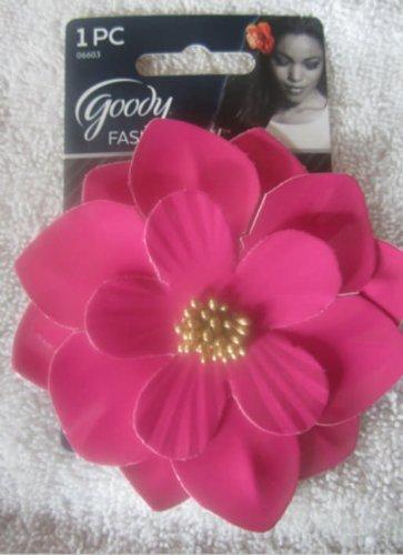 Goody Fashionow Women's Paten Leather Flower Salon Clip Gd06