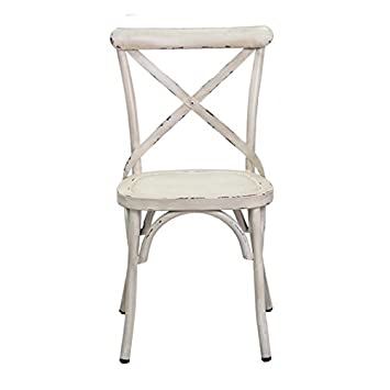 Chaise Vintage blanche: Amazon.fr: Cuisine & Maison