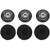 Lovinstar 3Pcs Medium Size Earbud Eartips Eargels & Foam Spare set for Plantronics Voyager 5200 Headset