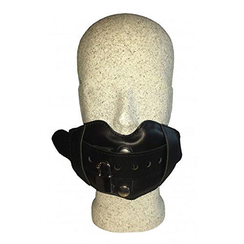 abschlie hinchable mordaza boca de piel con Negro silicona ...