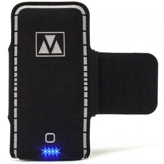 NEWUNIVERSAL M-EDGE POWER STRAP WITH 3500MAH BATTERY BANK - BLACK