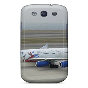 New Style NikRun Runway Aircraft Premium Tpu Cover Case For Galaxy S3