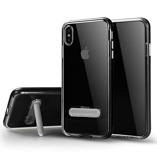 iPhone Xs Max Case, Bumblebee Apple iPhone Xs Max Case with Heavy Duty Protection/Shock Absorption/Dual Layer TPU + Rigid Back Armor/Scratch Resistant/Reinforced Corner Frame (Black)