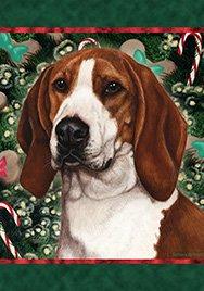 (Best of Breed Tree Walker Coonhound Holiday Treats Garden Flags)