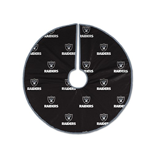 Pegasus Sports NFL Oakland Raiders Christmas Tree Skirt, ()