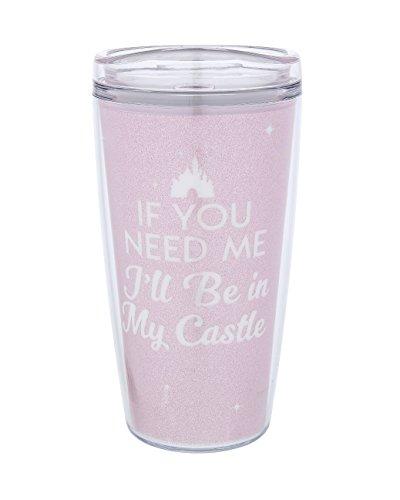 Disney Parks My Castle Pink Tumbler Cup -