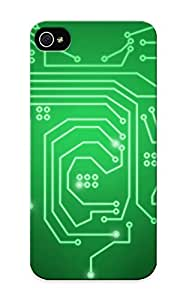 Illumineizl High Quality Circuit Heart Case For Iphone 5/5s / Perfect Case For Lovers