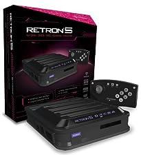 Hyperkin RetroN 5: HD Gaming Console for GBA/ GBC/ GB/ SNES/ NES/ Super Famicom/ Famicom/ Genesis/ Mega Drive/ Master System (Black)