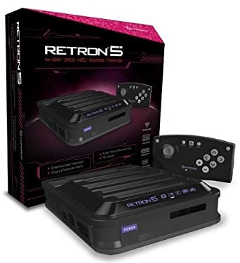 Hyperkin Retron 5 Retro Video Gaming System - Black  NES  Computer and  Video Games - Amazon.ca a6448d9a43