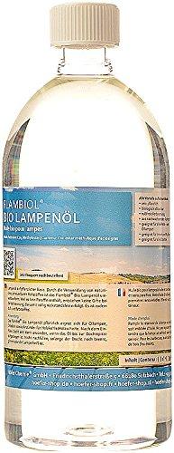 Flambiol Bio-Lampenöl, 1 Liter