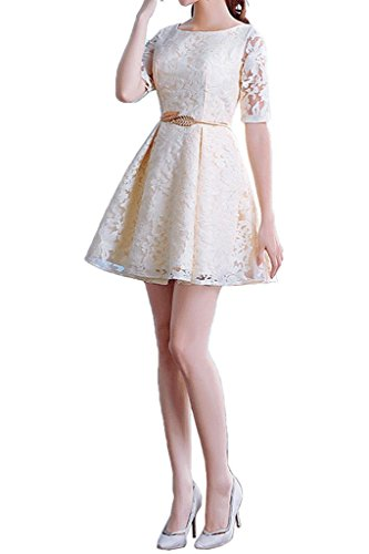 Missdressy - Vestido - para mujer Elfenbein-A