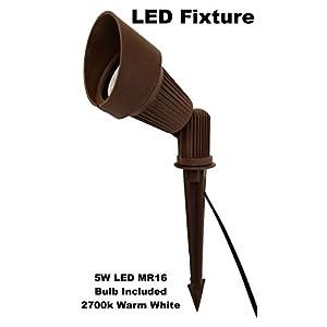 LED Low Voltage Landscape Lighting Directional Spot Light in Bronze (BPL-104)