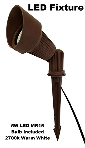 LED Low Voltage Landscape Lighting Directional Spot Light in Bronze (BPL-104)