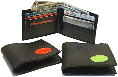 Recycled Rubber Tire Wallet with logo - Fair Trade