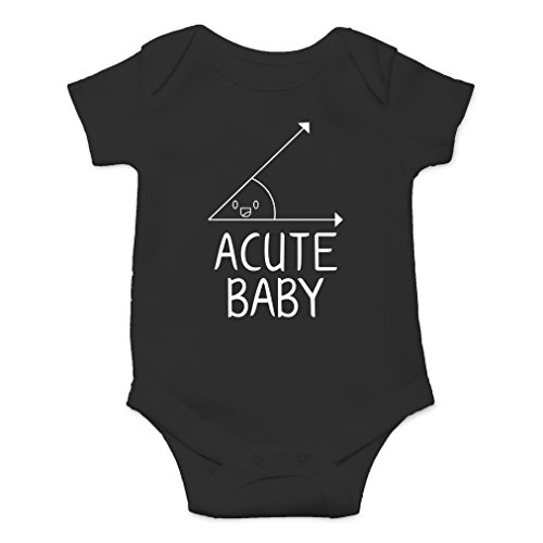 AW Fashions Acute Baby - Math Lovers Nerd Cute Novelty Funny Infant One-piece Baby Bodysuit