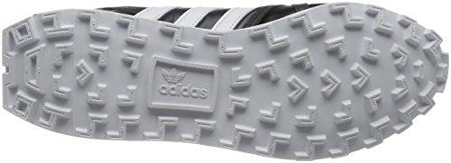 adidas - Zapatillas de Piel para hombre blanco negro, blanco Medium