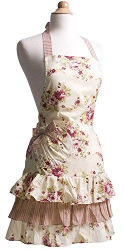 Flirty Aprons Women's Marilyn Apron, Venetian Rose