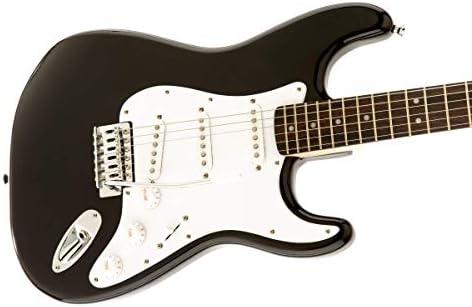 Fender Squier Bullet Strat con trémolo, negro, Palo De Rosa: Amazon.es: Electrónica
