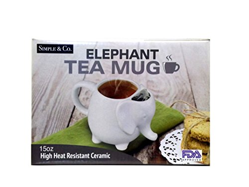 (Volar Ideas 15oz Elephant Tea Mug)