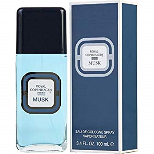- Royal Copenhagen Musk By Royal Copenhagen For Men. Cologne Spray 3.4 Oz