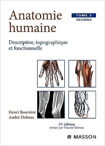 anatomie humaine rouviere