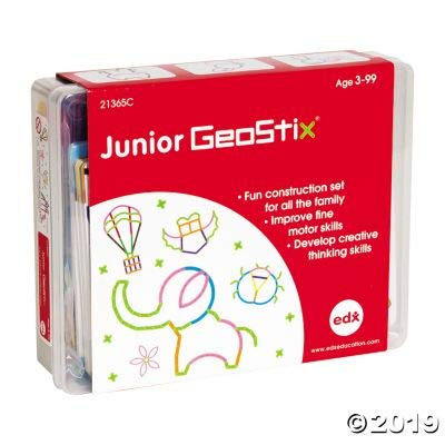 Fun Express Junior GEOSTIX - Educational - 200 Pieces: Toys & Games