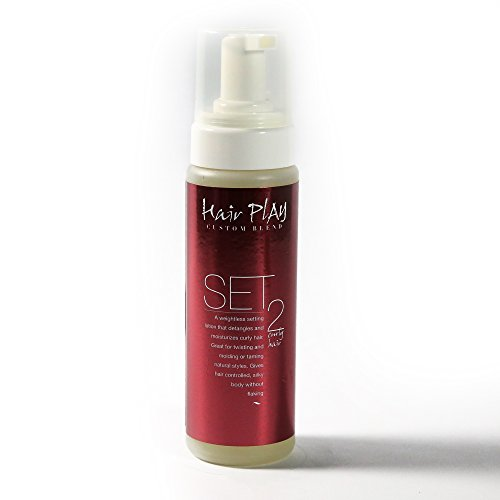 - Hair Mousse for Frizz Control and Wavy Hair - Hair Play Set #2 - Ease Frizz with Volumizing, Color Safe Leave-In Hair Foam and Mousse for Medium Hold - Curly, Frizzy, Coarse Hair (8 oz)