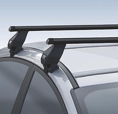 3 Portes Barres de Toit Acier Renault Twingo II De 2007 Jusqu/à 2013