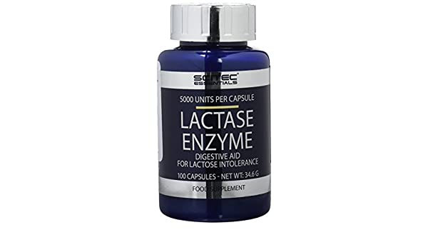 Amazon.com: Lactase - 100 capsules - Scitec essentials by ...