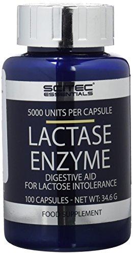Scitec Nutrition Lactase Enzyme regulador de lactosa 100 cápsulas
