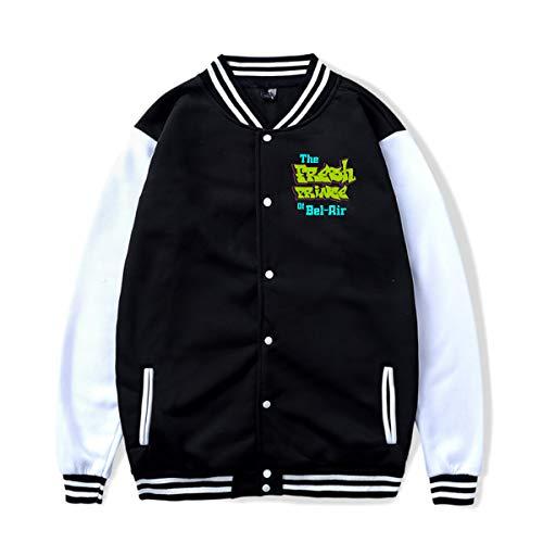 (Arsmt The Fresh Prince of Bel-Air Baseball Jacket Uniform Sport Coat for Unisex)