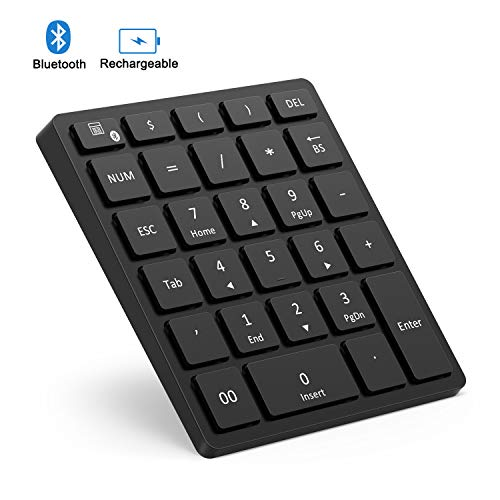 Bluetooth Numeric Keypad Rechargeable