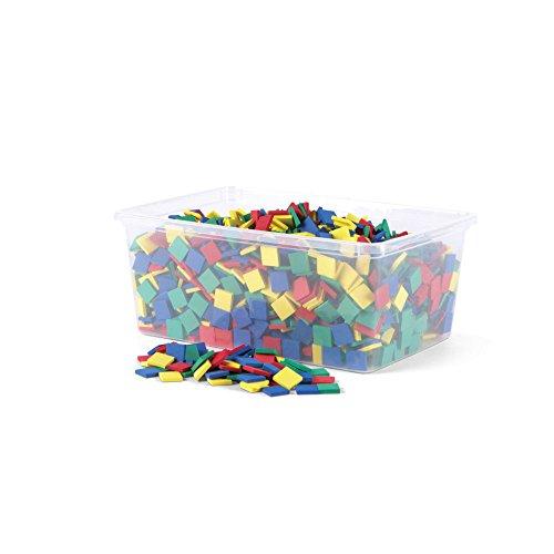 (hand2mind Foam Square Color Tiles (Set of 2,000))