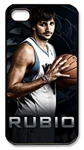 NBA Minnesota Timberwolves Ricky Rubio Customizable Case For Iphone 6 Plus (5.5 Inch) Cover Case