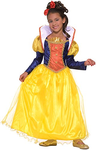 Forum Novelties Children's Snow White Costume, Large (Kids Fancy Dress Next Day Delivery)