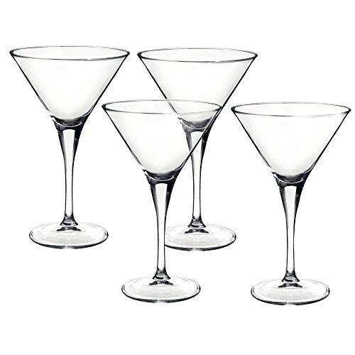 Bormioli Rocco Party Martini Glasses, Set of 4 by Bormioli Rocco