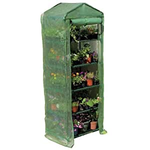 "Gardman R700 5-Tier Greenhouse with Heavy Duty Cover, 27"" Long x 18"" Wide x 79"" High"