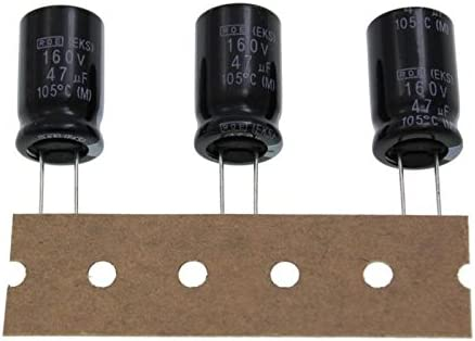 20x Elko Kondensator Radial 47µf 160v 105 C Eks00ge247mg0k 47uf Beleuchtung