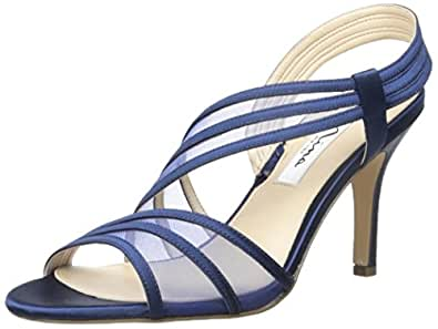 Nina Women's Vitalia Dress Sandal, New Navy, 6 M US