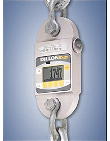 EDx-10T Dillon EDxtreme Dynamometer with two shackles Backlight 25 000 lbf Capacity - 36188