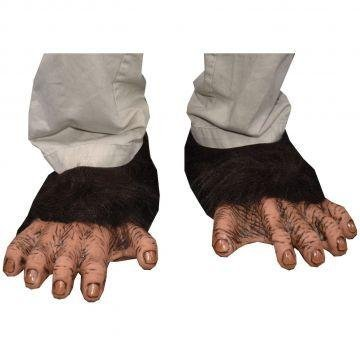 Adult Chimp Feet by Morris Costumes ()