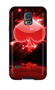 Galaxy S5 Case Cover Skin : Premium High Quality Poker Case