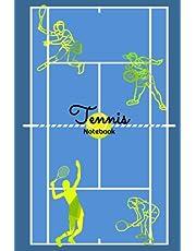 Tennis Notebook: Tennis Journal Match Practice Notes