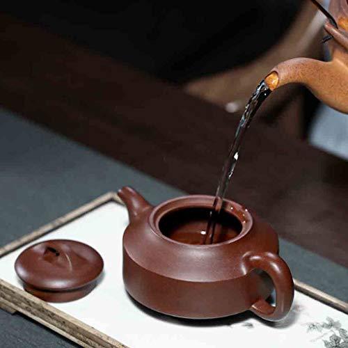 Tea Cozies Pure Handmade teapot Large Capacity Kung Fu Tea Set Tao Jian Hanjun Pot (Color : Brown, Size : 15.29.58cm) by Tea Cozies (Image #3)