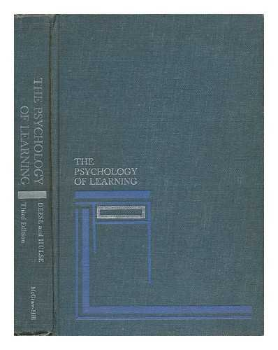 The Psychology of Learning (McGraw-Hill Series in Psychology)