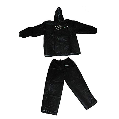 Frogg Toggs All Purpose Rain Suit Pants & Jacket Size XXL AP102-01 Black