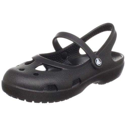 Crocs Shayna Mary Jane Clog (Toddler/Little Kid),Black,9 M US Toddler by Crocs