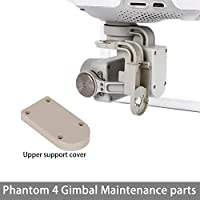 iMusk Gimbal Protector Guard Yaw/Roll Arm Cover Cap DIY Replacement Spare Repair Parts for DJI Phantom 4 Gimbal Parts (Yaw Arm Cover Cap)