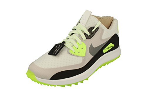 Nike Air Zoom 90 IT Spikeless Golf Shoes 2017 White/Cool Gray/Neutral Gray/Black Medium 8