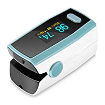 InLife A310 Pulse Oximeter with Carrying Case, Neck/Wrist Cord and 1-Year Warrantly